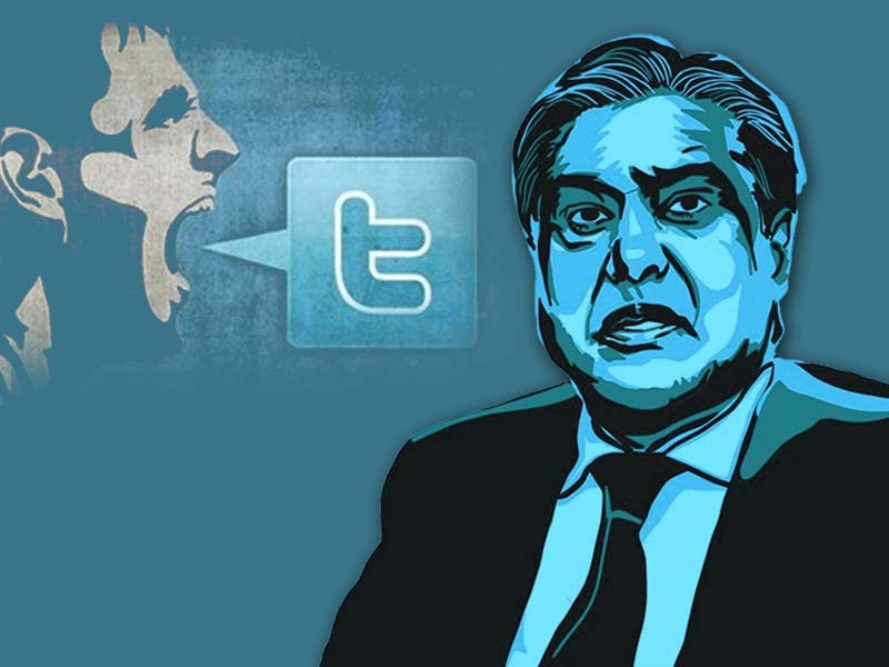 this is hard talk not capital talk ishaq dar gets butchered on pakistani twitter
