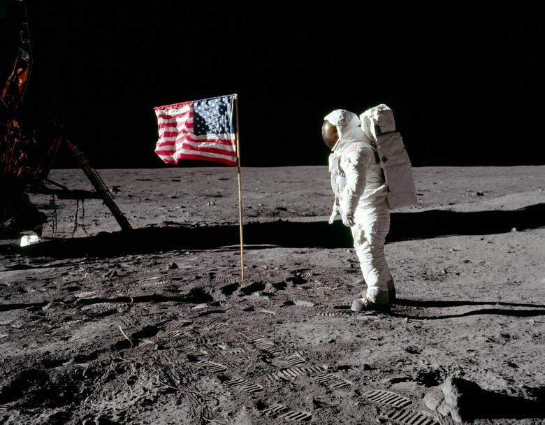 haul of rare photos of space exploration s golden age up for auction including armstrong on moon