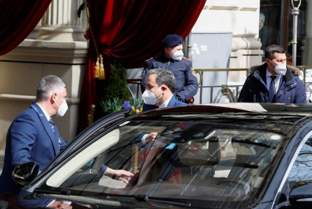 iranian deputy at ministry of foreign affairs abbas araghchi arrives at a meeting of the jcpoa joint commission in vienna austria april 6 2021 reuters