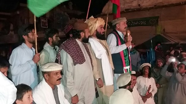 Political parties, tribal elders hold joint celebrations. PHOTO: EXPRESS