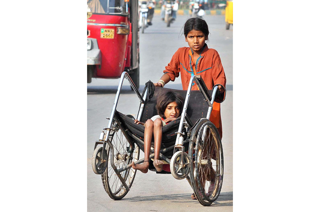 Old census placed 177,553 differently-abled children out of school. PHOTO: APP