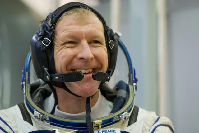 uk astronaut to take part in london marathon from space