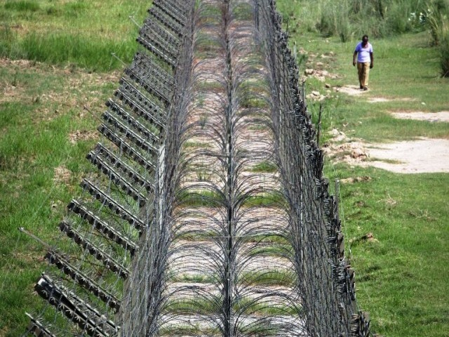 a file photo of the line of control between pakistan and india photo reuters