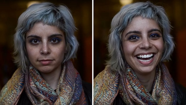 the-difference-in-the-pictures-taken-before-and-after-the-compliment-shows-genuine-reactions-of-people