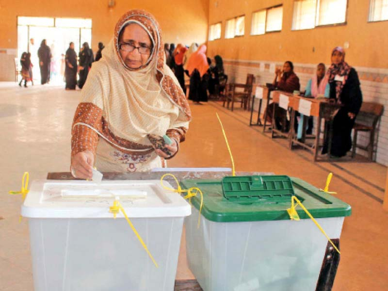 colours of democracy as city goes to polls its better half steps out