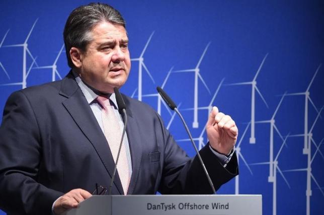 sigmar gabriel german minister for economic affairs delivers a speech photo reuters