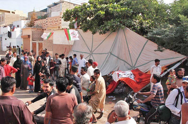 landhi violence brings back memories of a horrifying past