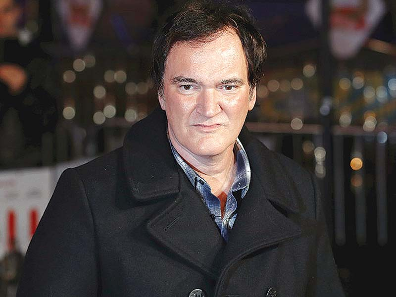 Tarantino's Western-American mystery will premiere in the US late December. PHOTO: REUTERS