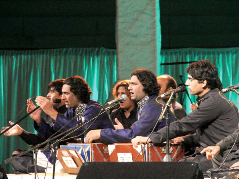 that time of year fans flock to sufi music extravaganza