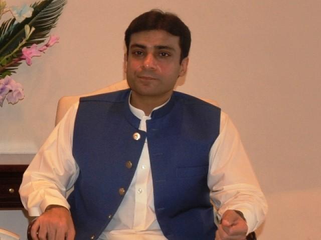 National Assembly Member Hamza Shahbaz. PHOTO: QAZI USMAN/EXPRESS