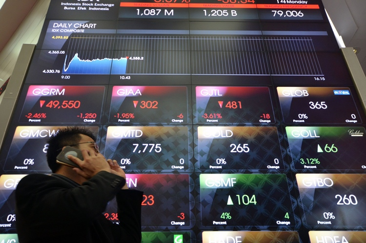 oil price slide hits stock markets