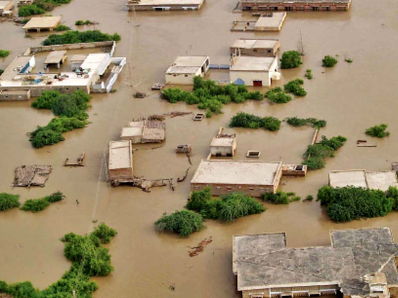 thatta was severely flooded during the 2010 super floods in the province the wwf p five year project showed that the effects of climate change will be worse for coastal communities photo file