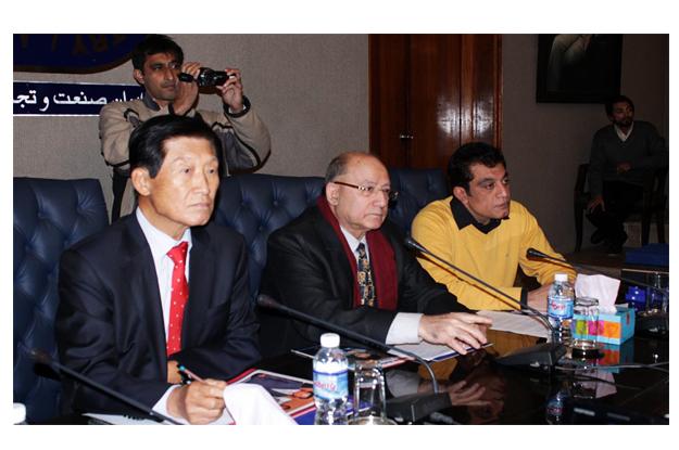 korean envoy shares plan for economic alliance with pakistan
