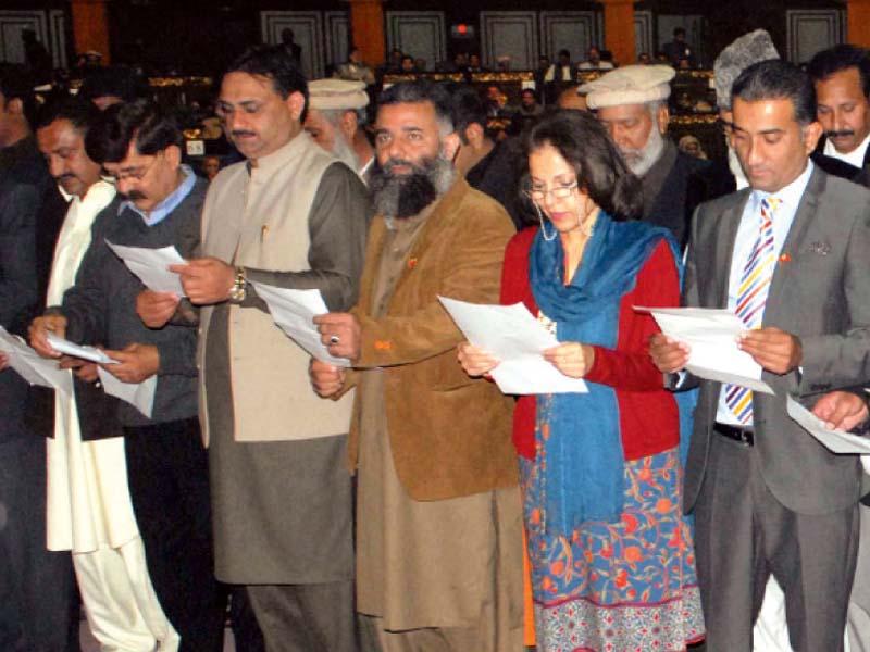 new system lg representatives take oath