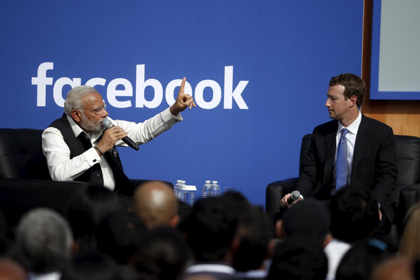 Cong accuses BJP of controlling Facebook; saffron party hits back