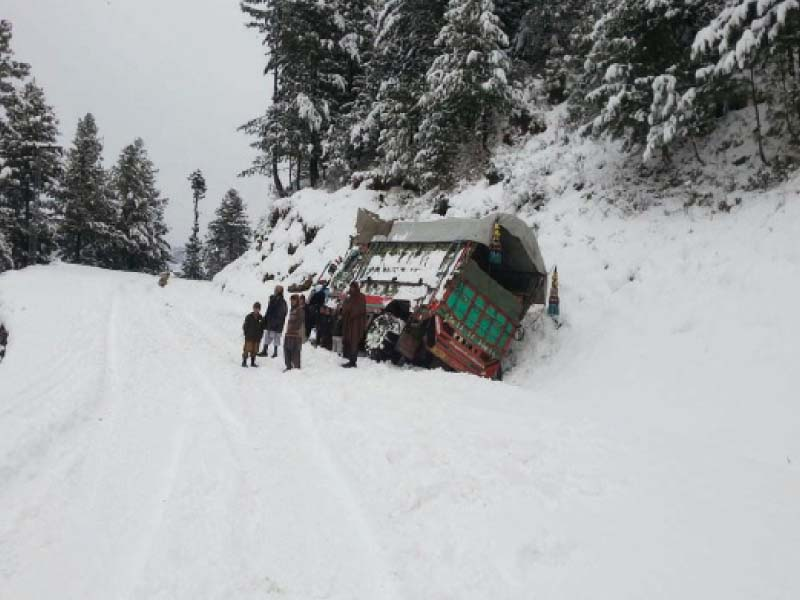 covered in white shangla worst hit by snow as province faces extreme weather