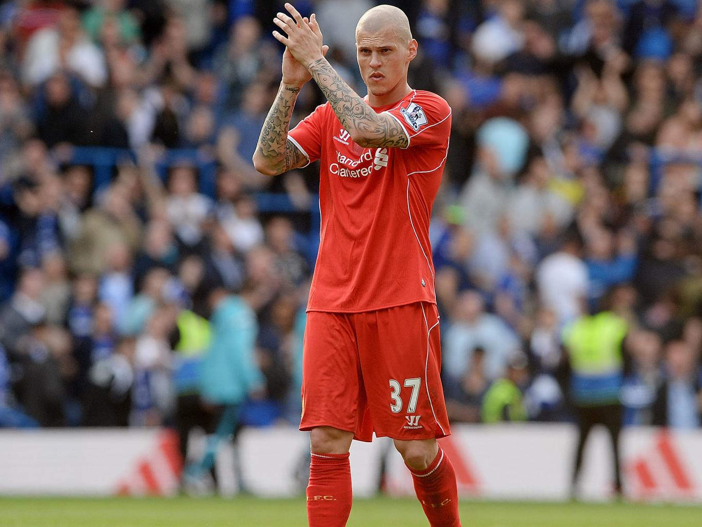 skrtel expects to be out for six weeks