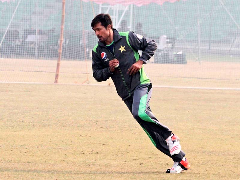 Amir showed remarkable form on his return, taking 22 wickets in the non-first-class event followed by 34 in four qualifying rounds of the Quaid-e-Azam Trophy. PHOTO: SHAFIQ MALIK/EXPRESS