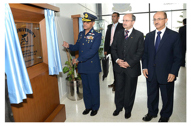 call for perseverance nation s resolve helped eliminate terror says air chief