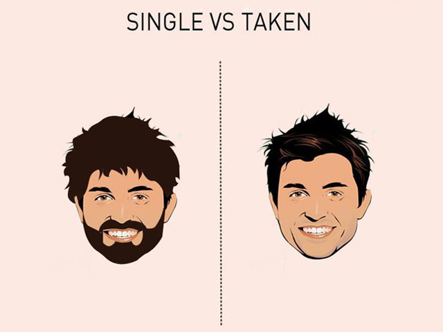 8 images that sum up the difference between single guys and taken guys