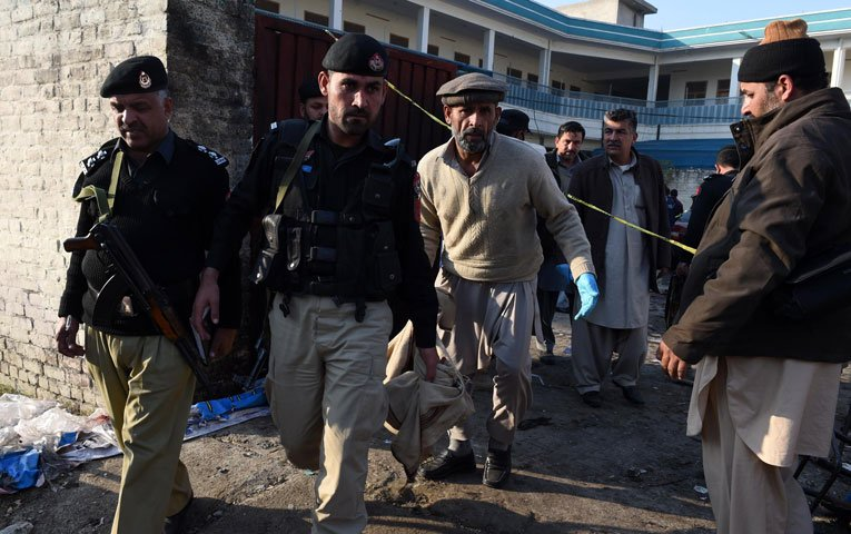 mardan suicide attack beyond the call of duty