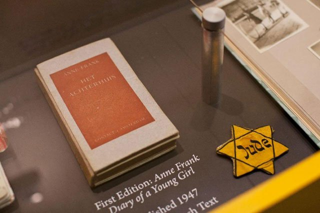 anne frank s diary goes online despite rights dispute