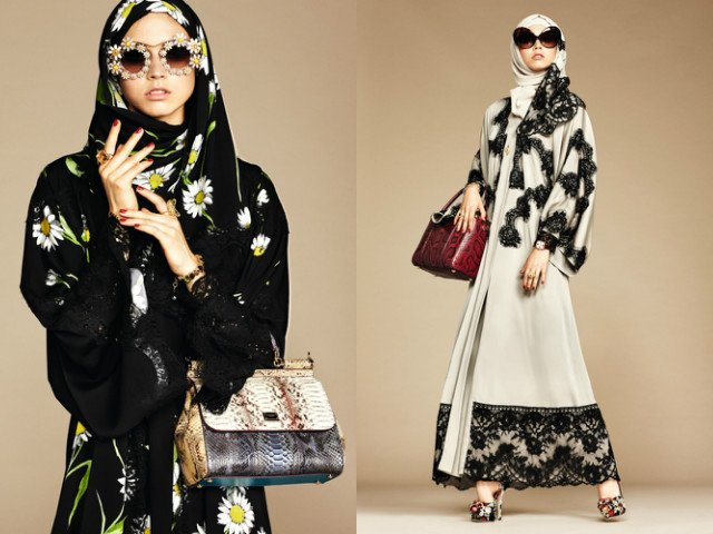 italian fashion house launches a range of luxe black and sandy beige abayas photo style com arabia