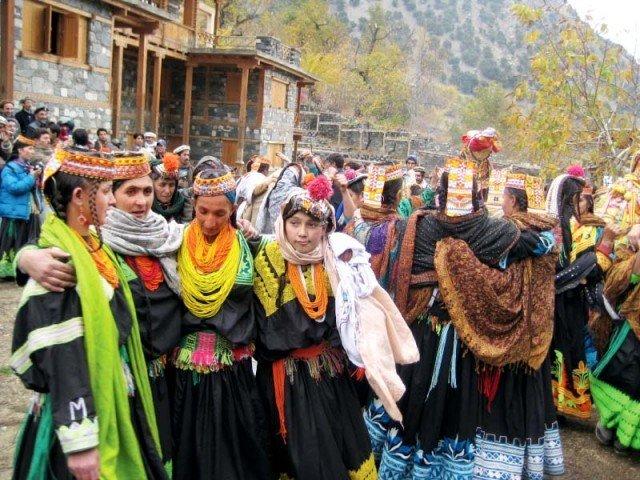 kalash celebrate death of revered figure