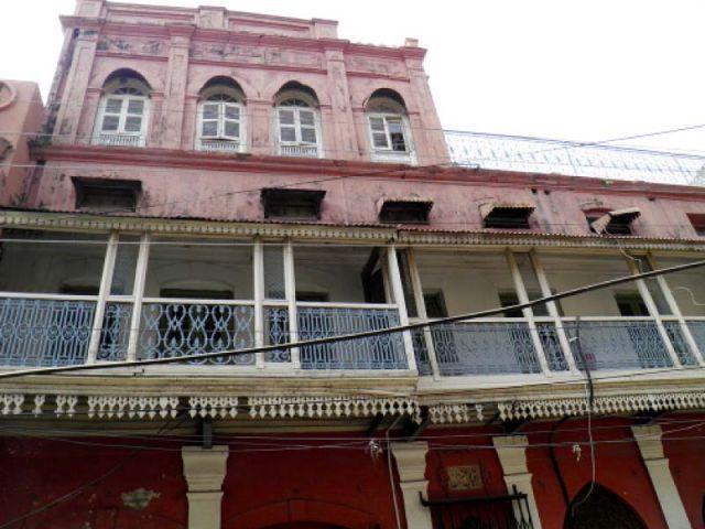 iqbal manzil birthplace of national poet muhammad allama iqbal situated in the heart of sialkot city photo file