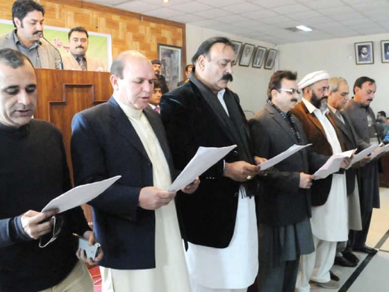 devolution of power lg representatives take oath