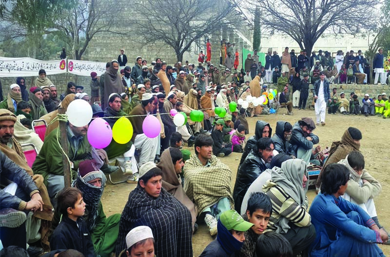 a sporting chance gala draws large crowd in kurram