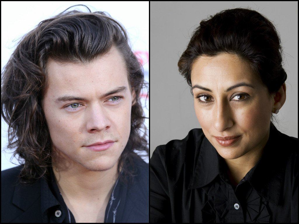 saira khan faces twitter backlash after meeting harry styles reports trolls to police