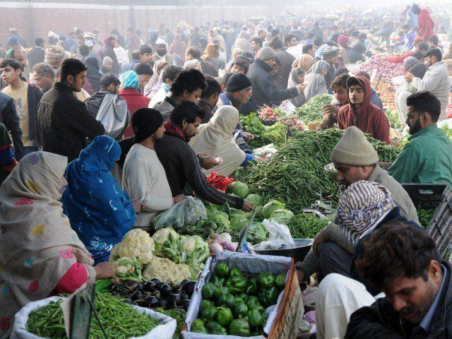 prices of most vegetables decline photo zahoorul haq express