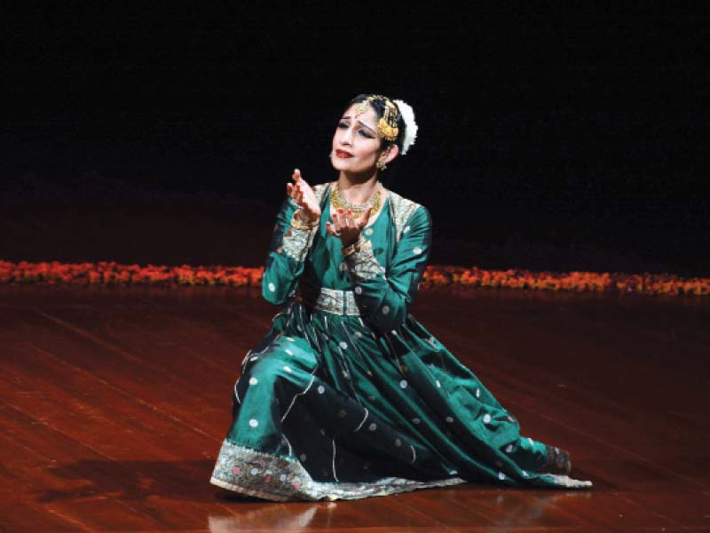 farah yasmeen shaikh performs at pnca she received kathak training from late pandit chitresh das photo huma choudhary express