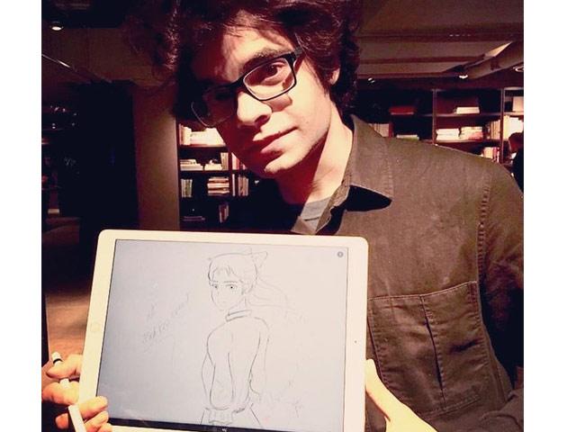 apple teams up with pakistani musician artist usman riaz for ipad art demo