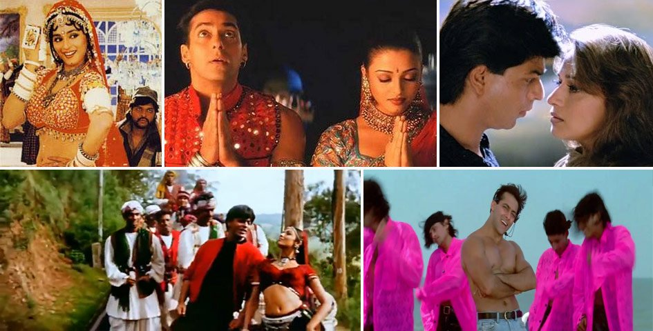 our top 20 all time favourite bollywood songs from the 90s