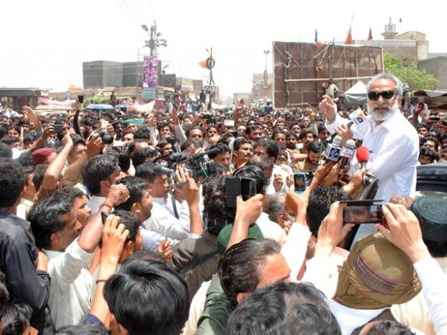 alleged rigging zulfiqar mirza s supporters continue protest against ppp