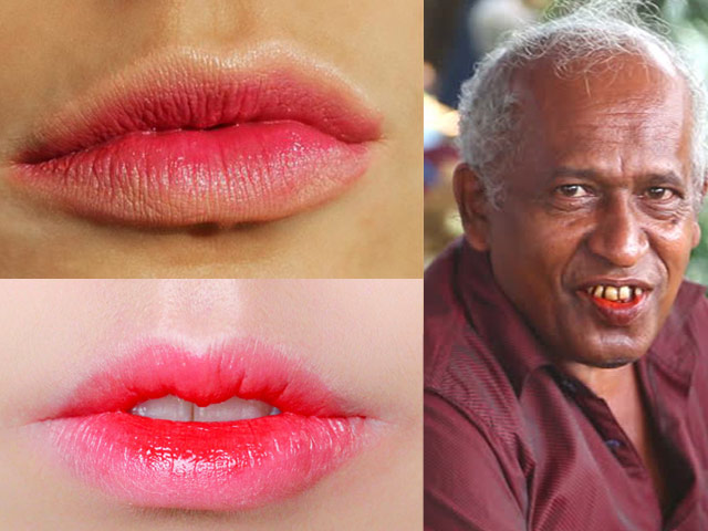 paan lips are all the rage this season