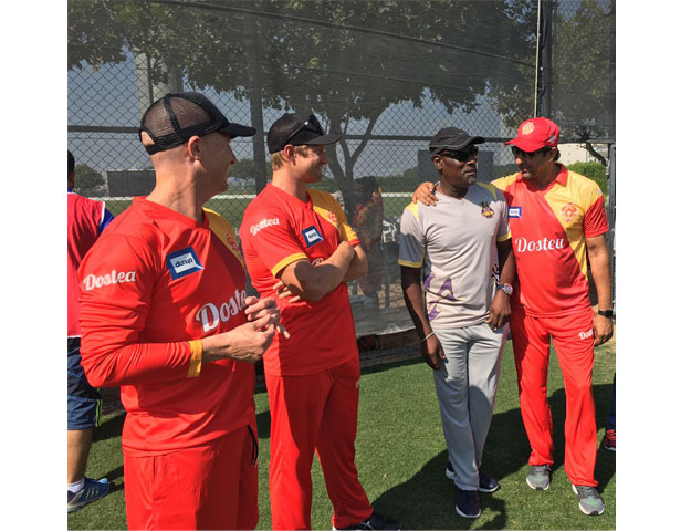 Richards is serving as the ambassador for Quetta Gladiators and will be mentoring and motivating their players. PHOTO: Nabeel Hashmi/Express