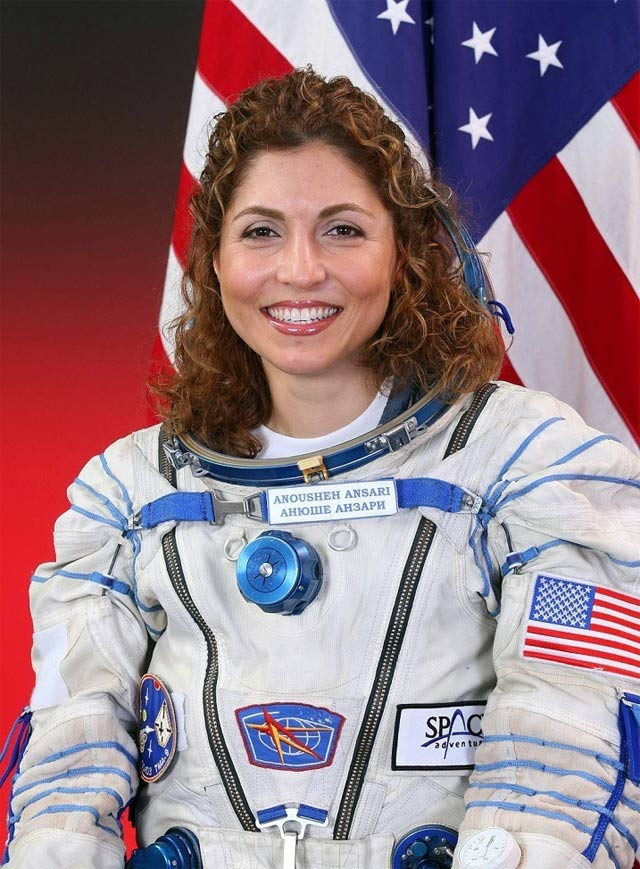 iran born anousheh ansari is a computer scientist an entrepreneur and the first muslim woman to go to space photo tech in asia