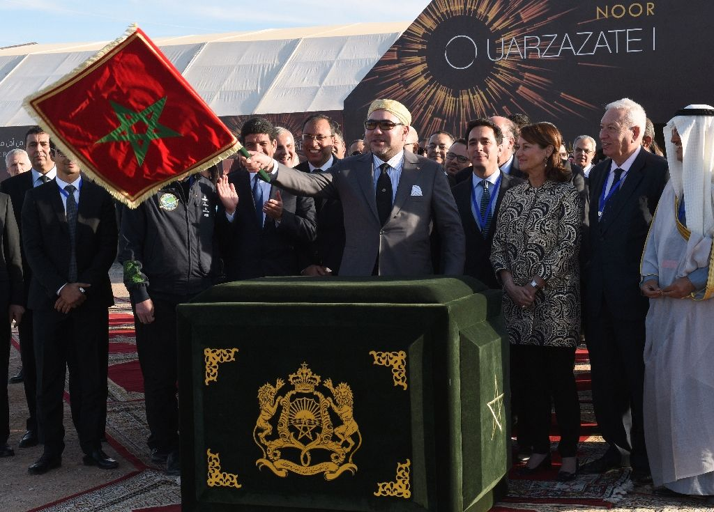 morocco launches world s biggest solar power plant