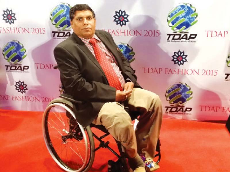 siddiqi says he believes that physically disabled persons can lead a normal life but for this they must have faith in themselves photo file