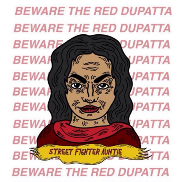 artist sets out to redefine what it means to be a desi aunty