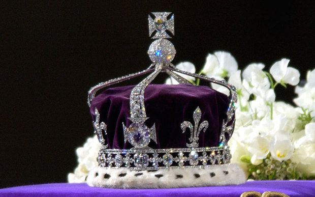 the crown of queen elizabeth the queen mother with the kohinoor diamond sits in the tower of london with the crown jewels photo reuters