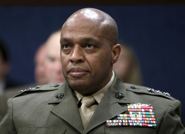 lt gen vincent r stewart claimed pakistan will face internal security threats from militants and separatist groups in the current year photo reuters