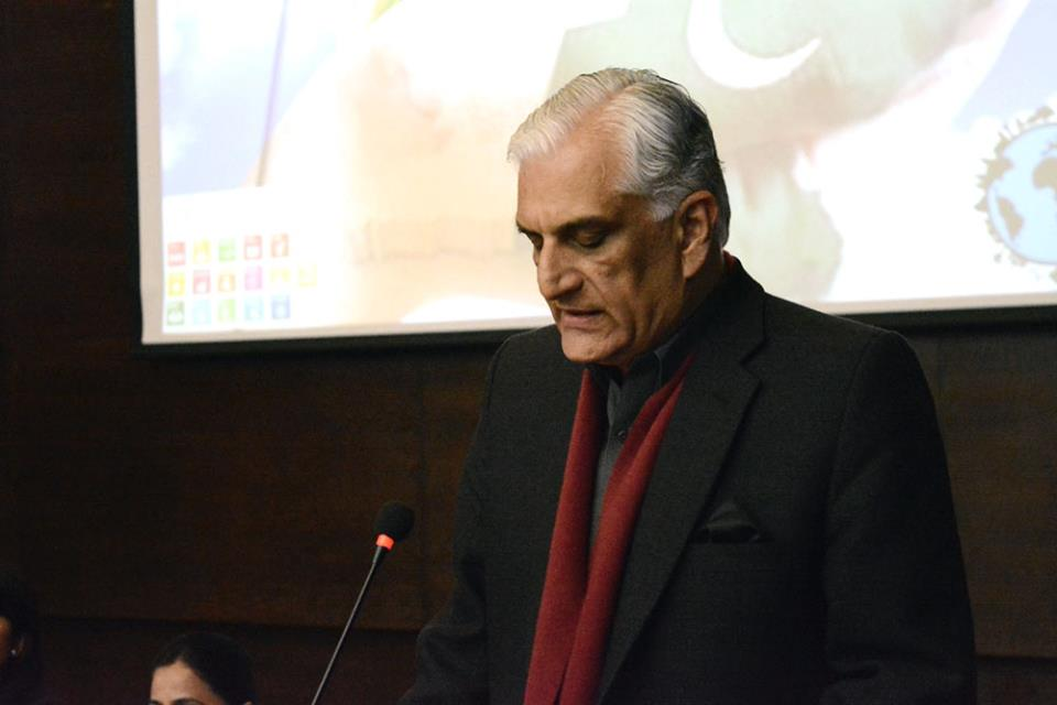 federal minister for climate change zahid hamid said this while speaking at a national conference on integrating sdgs and climate change for resilient pakistan photo fb com leadpakistan