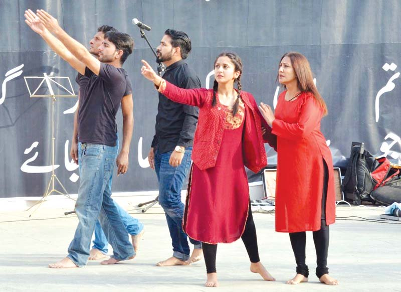 amn mela with music songs and dance tributes paid to faiz