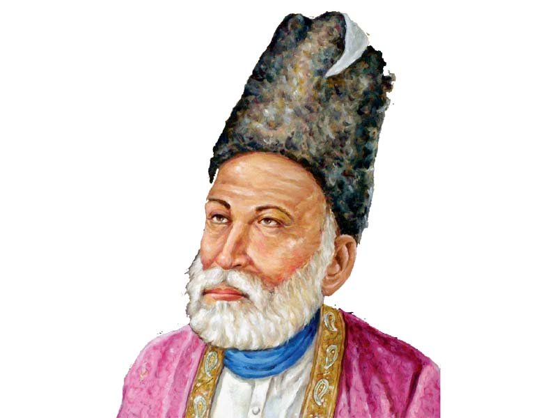 Mirza Asadullah Khan Ghalib breathed his last on February 15, 1869. PHOTO: FILE