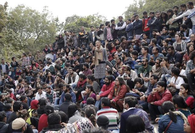 indian opposition raises concerns with modi over student protests