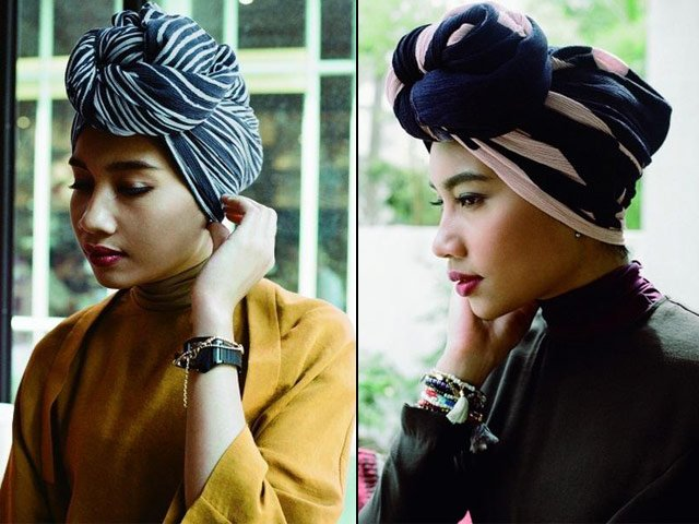 new line will range from a traditional hijab an inner hijab and an inner headband for covering hair photo sg asia city